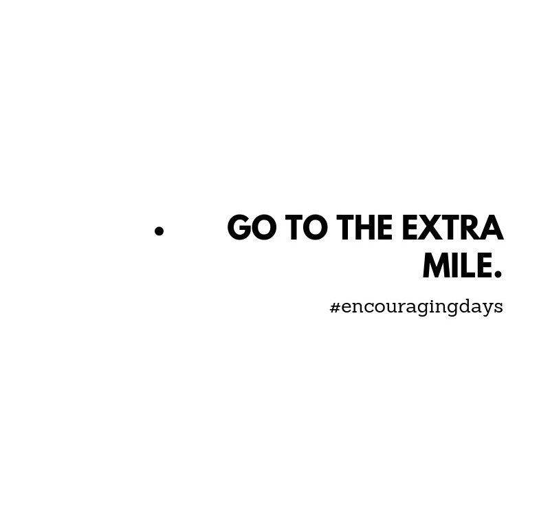 Exercício: A milha extra