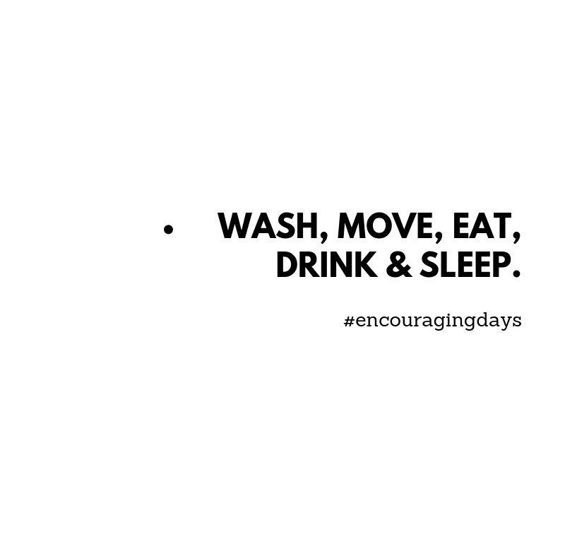 Actividades diárias.