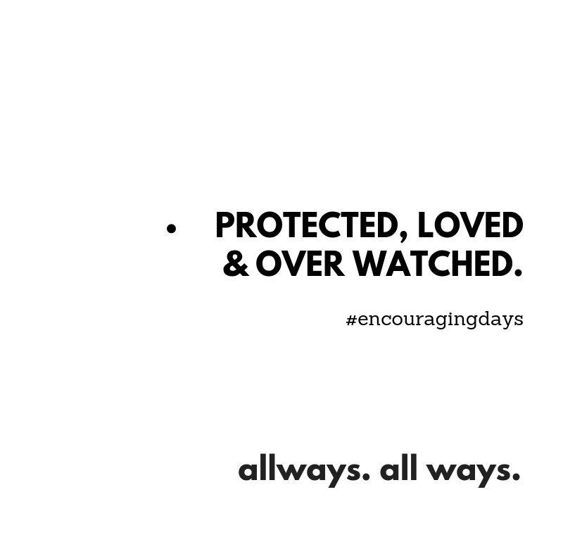 Lembrete a lembrar-nos de como somos incrivelmente protegidos.