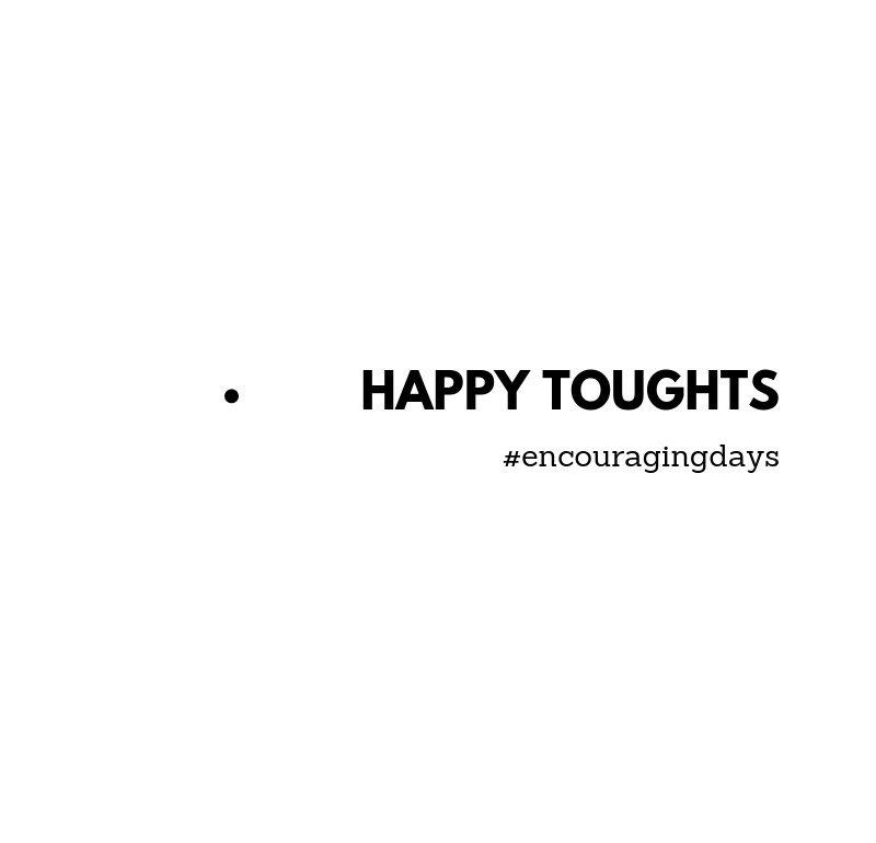 Sugestão: Pensamentos felizes