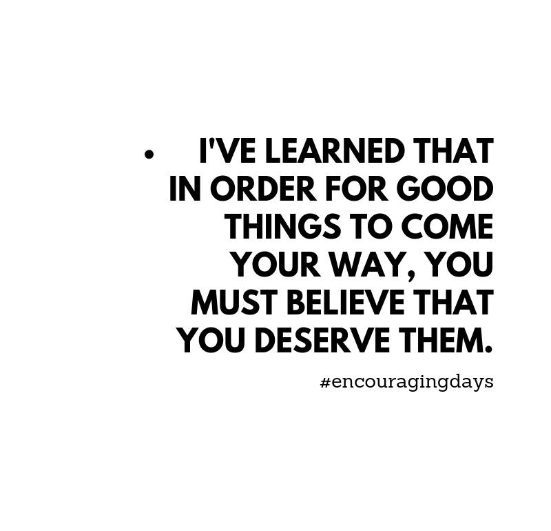 Frase inspiradora: Coisas boas acontecem.