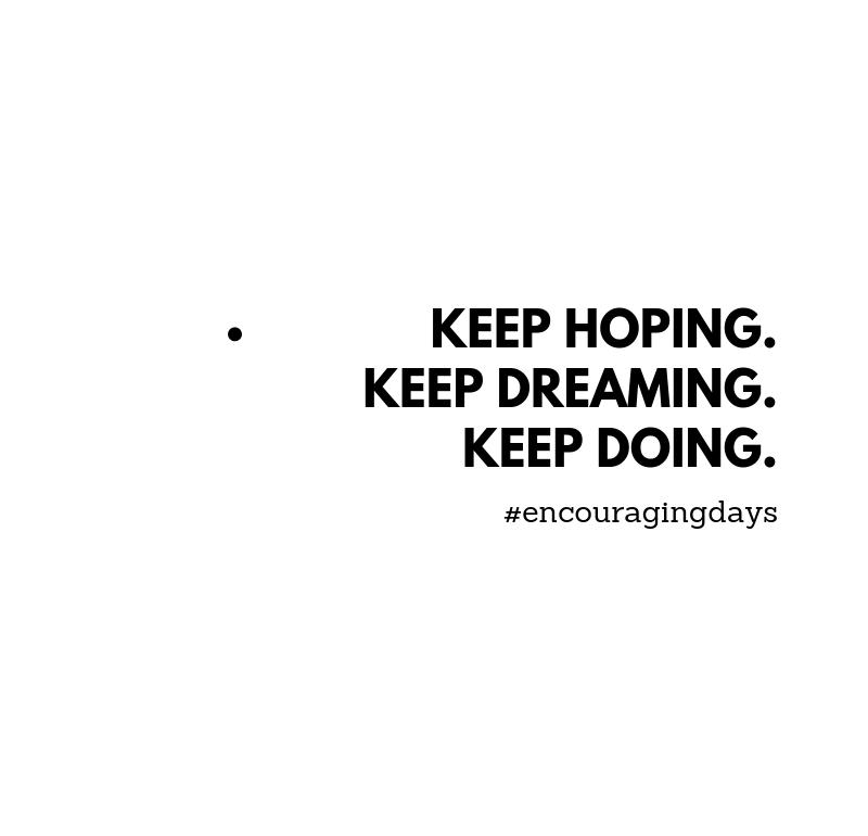 Frase motivacional: Continua.